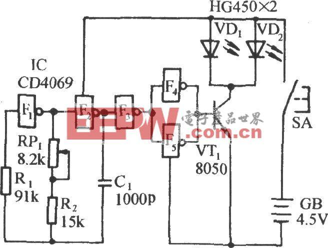 红外遥控音乐插座电路(三)