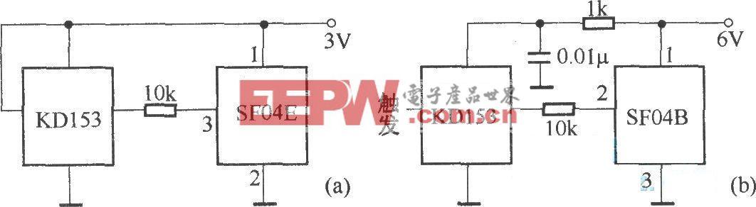 SF04E与SF04B组成的发射电路