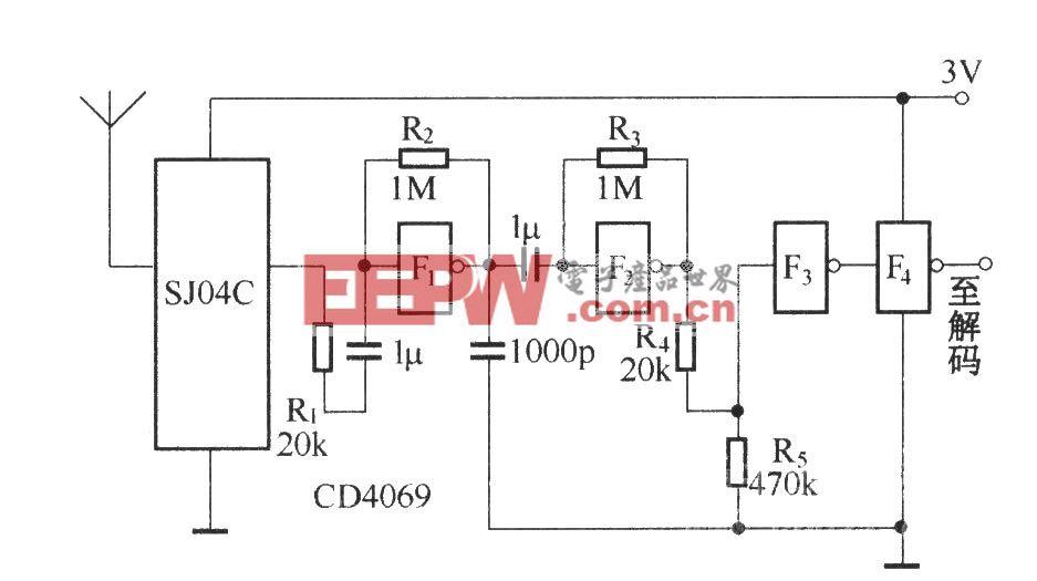 SJ04C的放大与整形电路