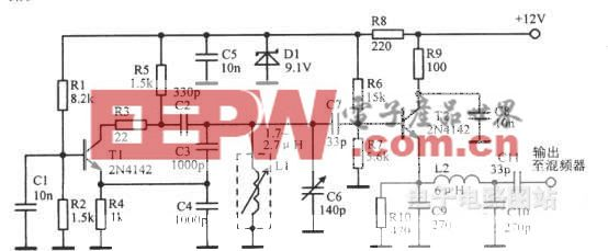 3.955—4.455MHz VF0电路