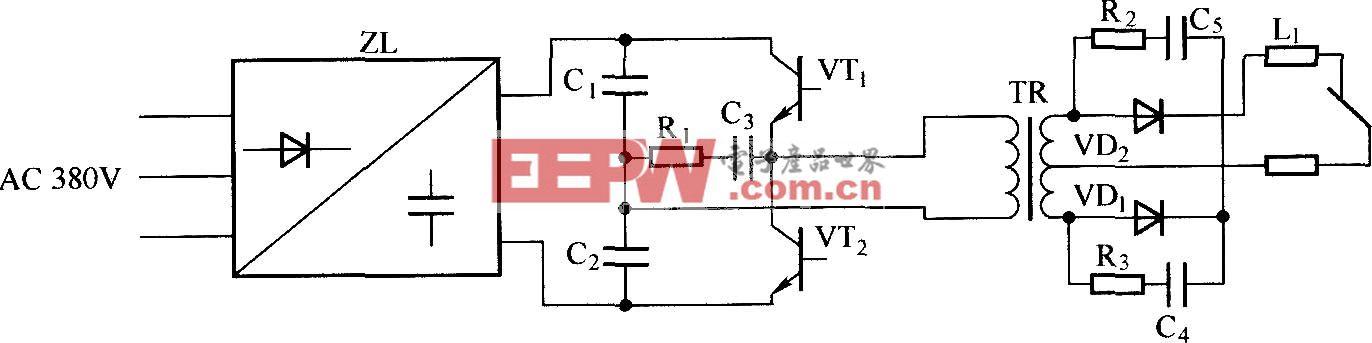 ZX7—315型弧焊电源工作原理图
