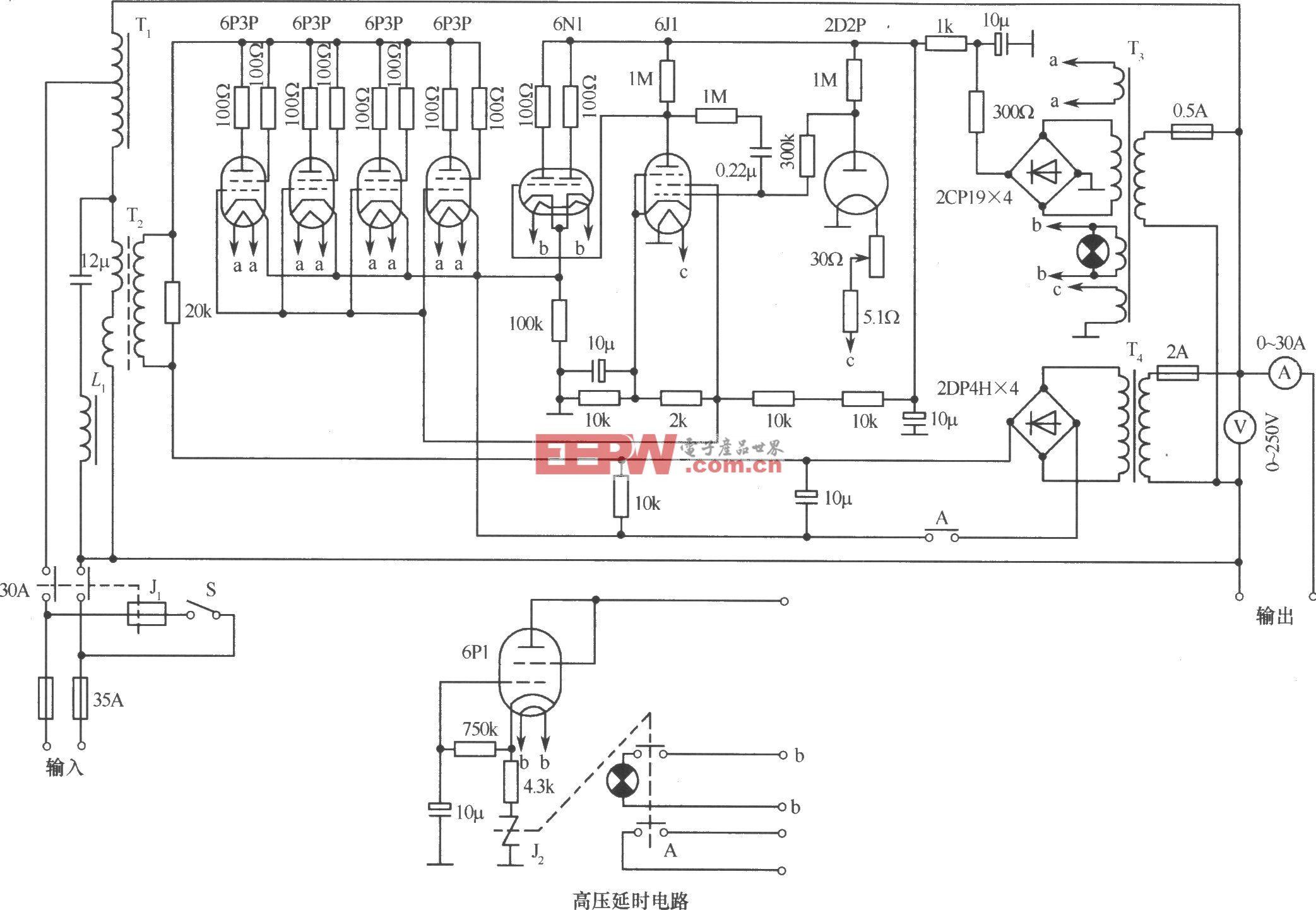 614-C3(5kVA)交流稳压器电路