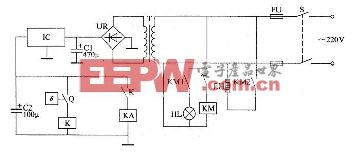 养殖场用恒温控制器电路图