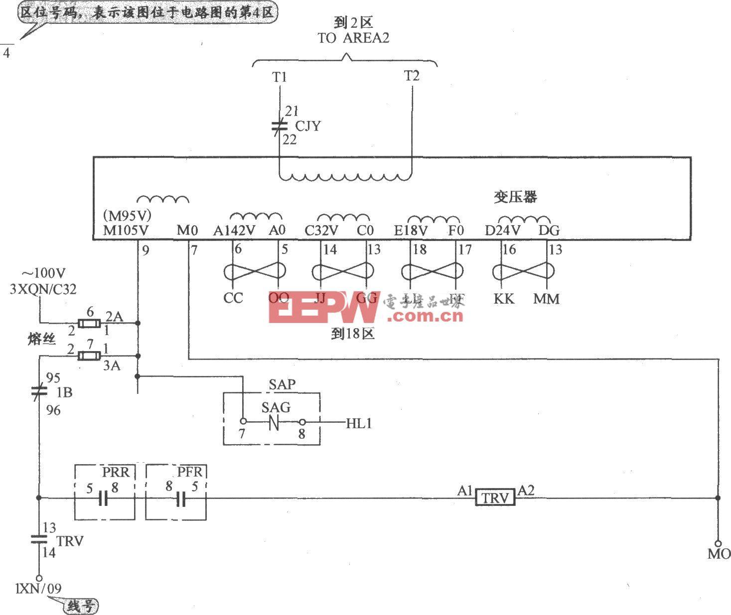 奥的斯TOEC-40电梯控制电源电路(1)