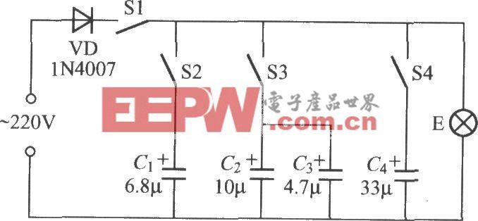 电容式变光开关电路(2)