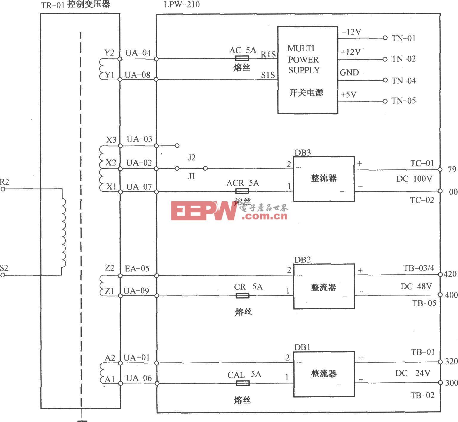 铃木电梯控制电源电路(1)
