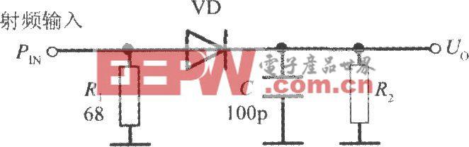 用二极管检测输入功率电路