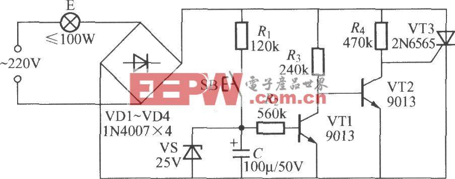 实用延迟灯电路(2)