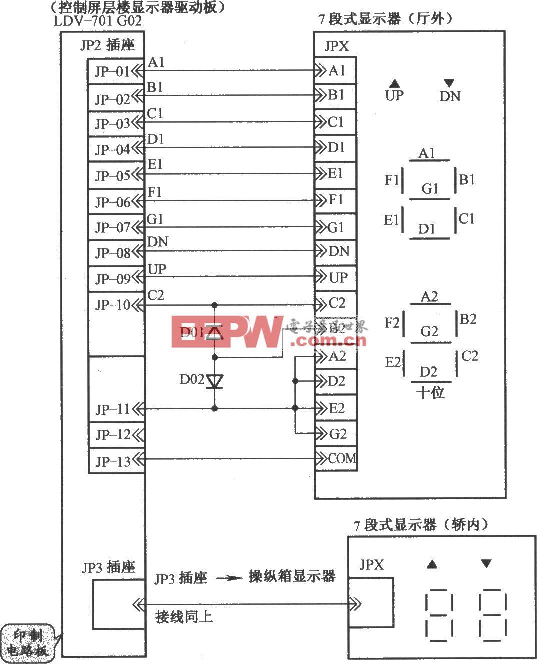 鈴木電梯樓層指示電路