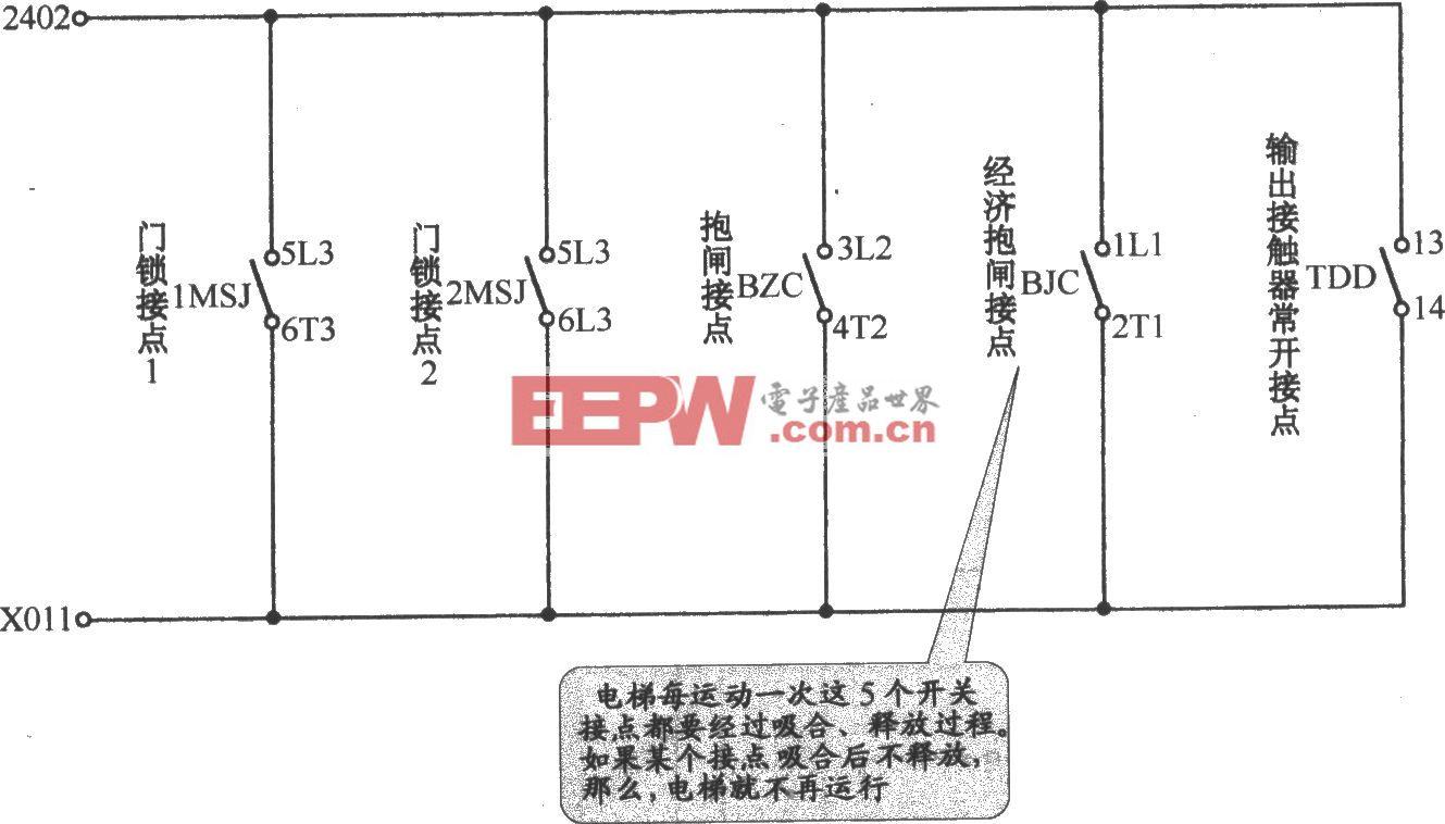 北京图捷电梯控制电路(4)