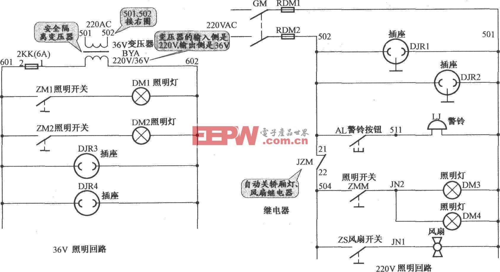 上海新时达电梯照明电路(PLC+变频器)