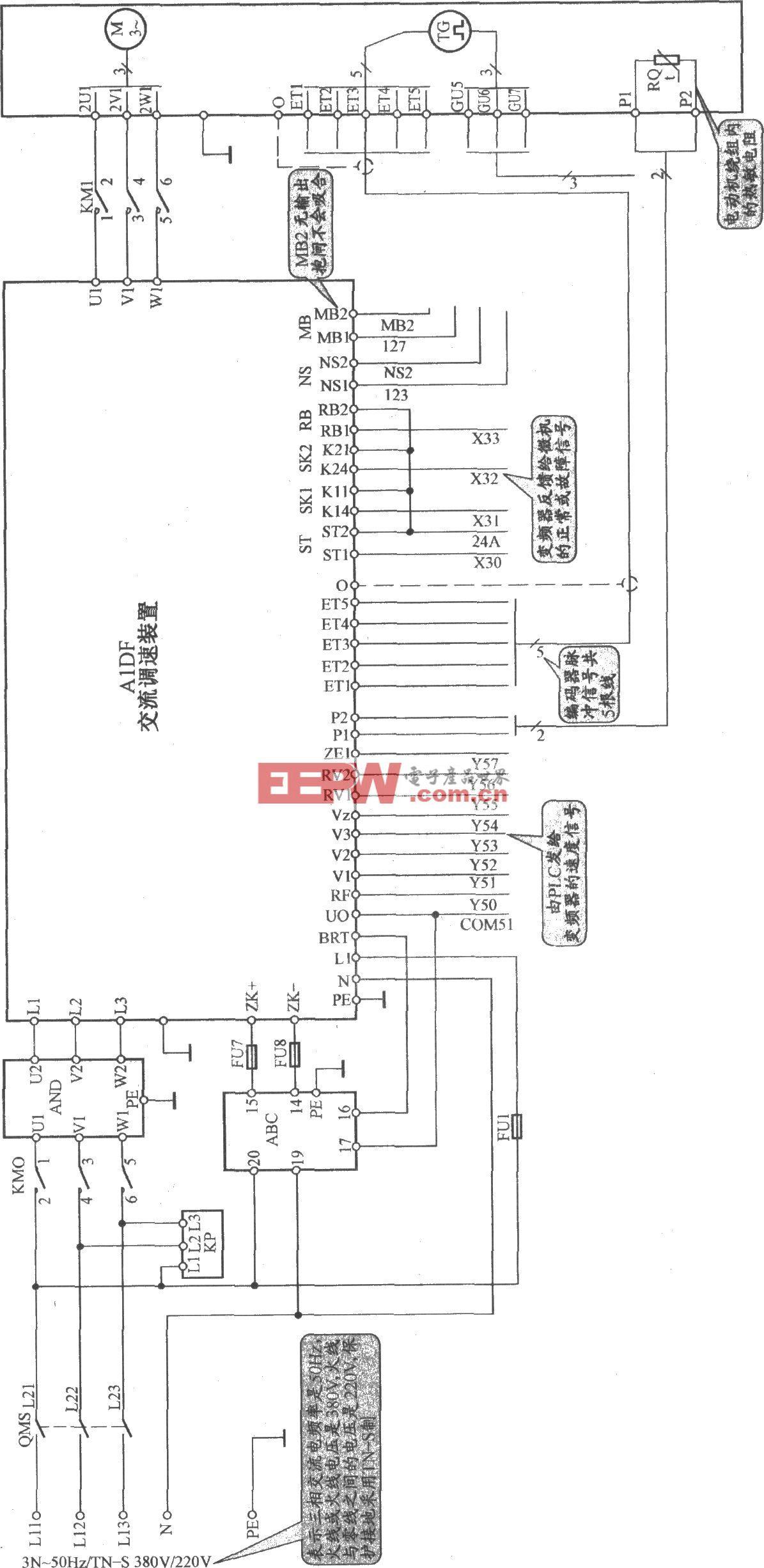 三菱SPW(F)电梯主电路(A)