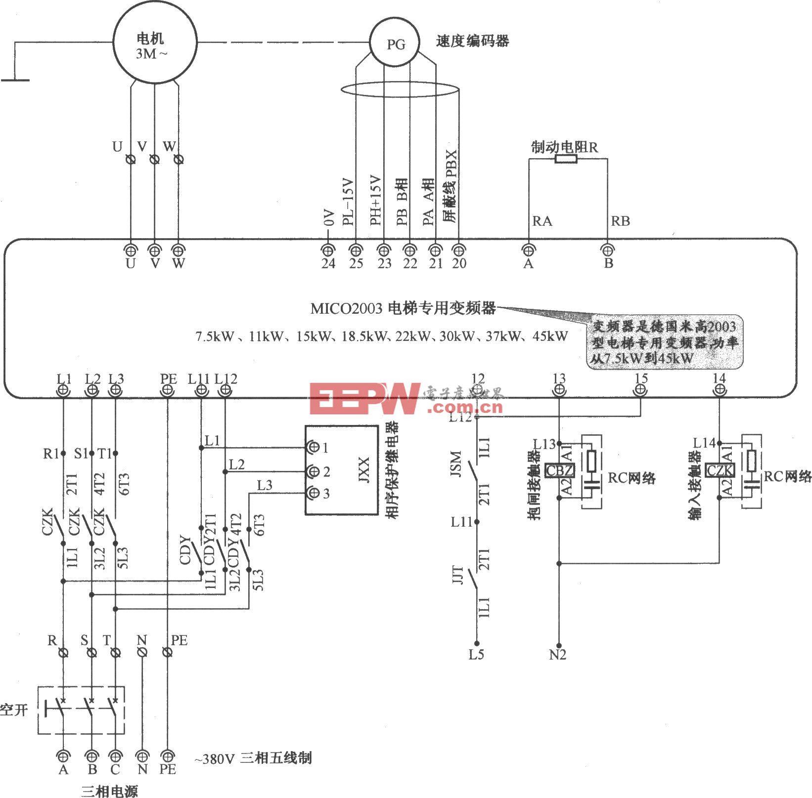 北京冲云电梯主电路(1)