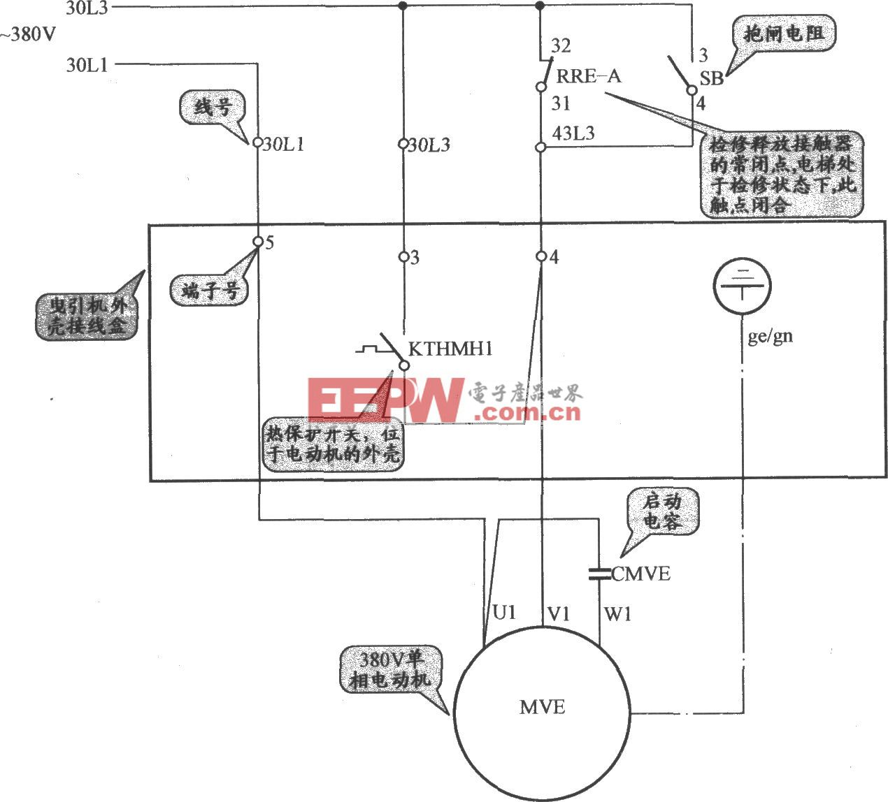 迅达MB-DS电梯冷却风机电磷