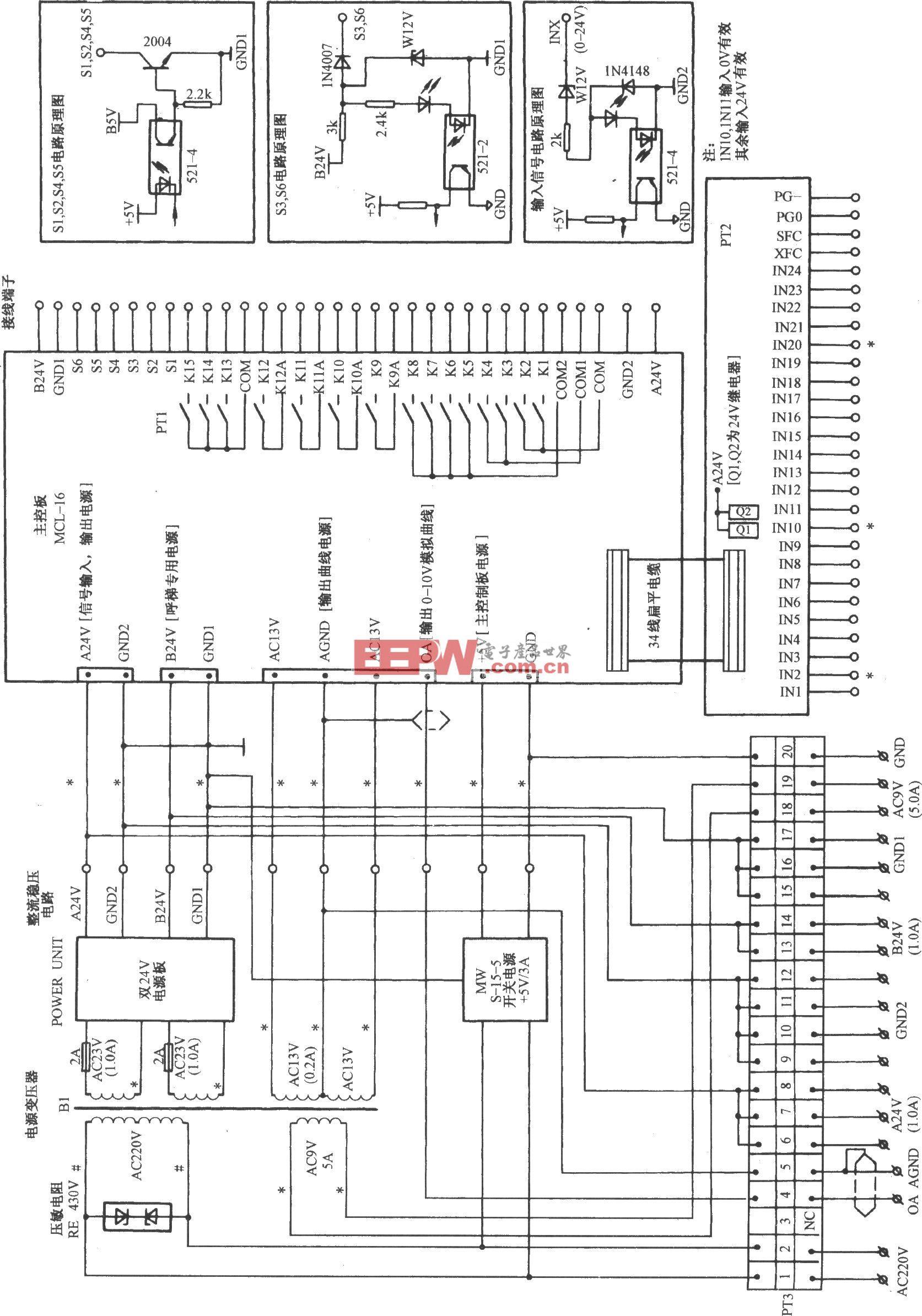 天津正大电梯控制电路(2)