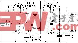 简易LED驱动器
