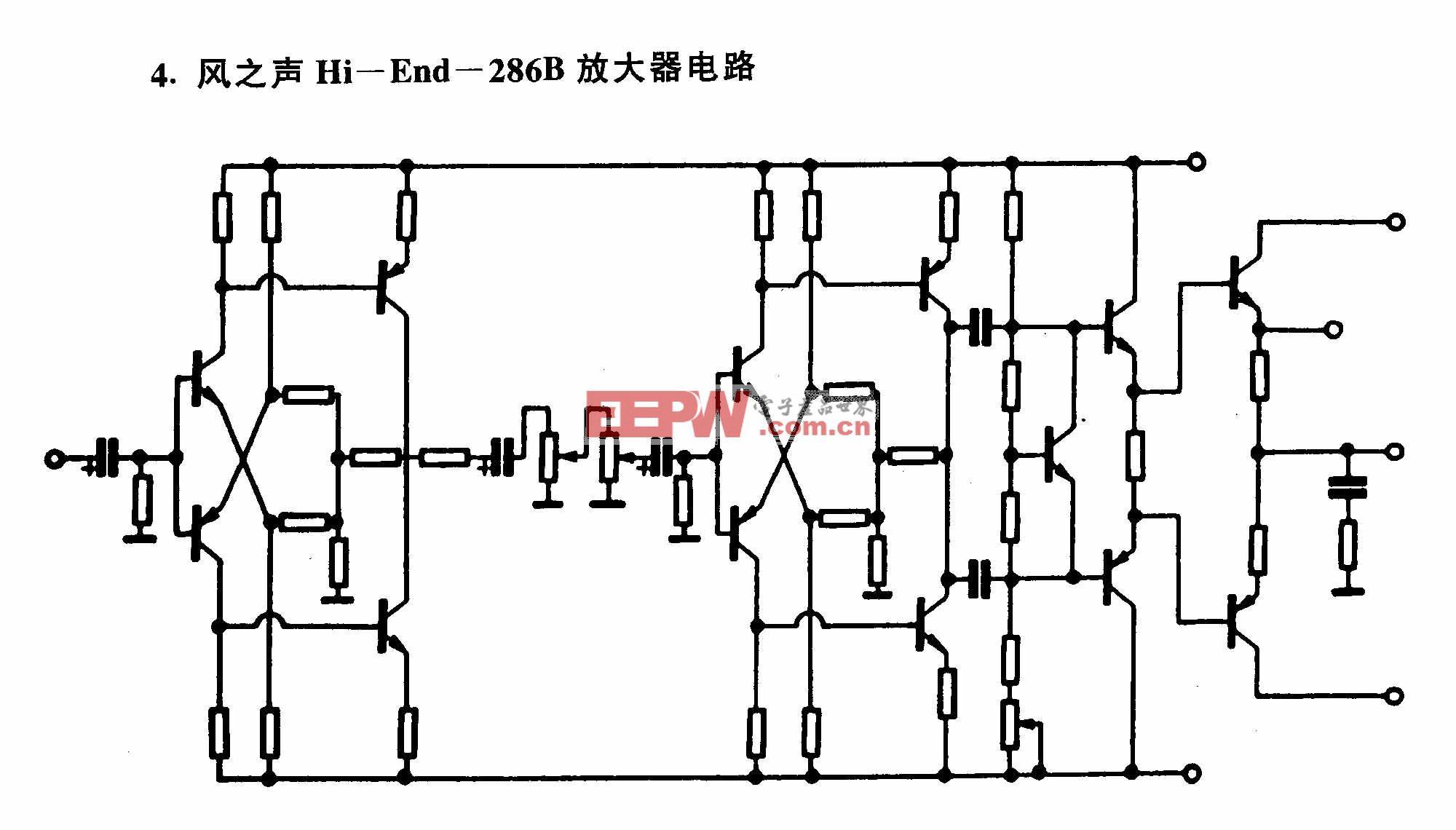 风之声Hi-End-286B放大器电路