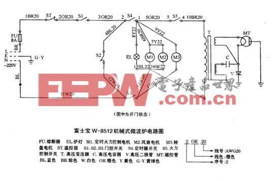 富士宝-W-8512机械式