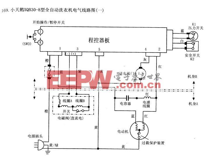 小天鹅-XQB30-8线路图