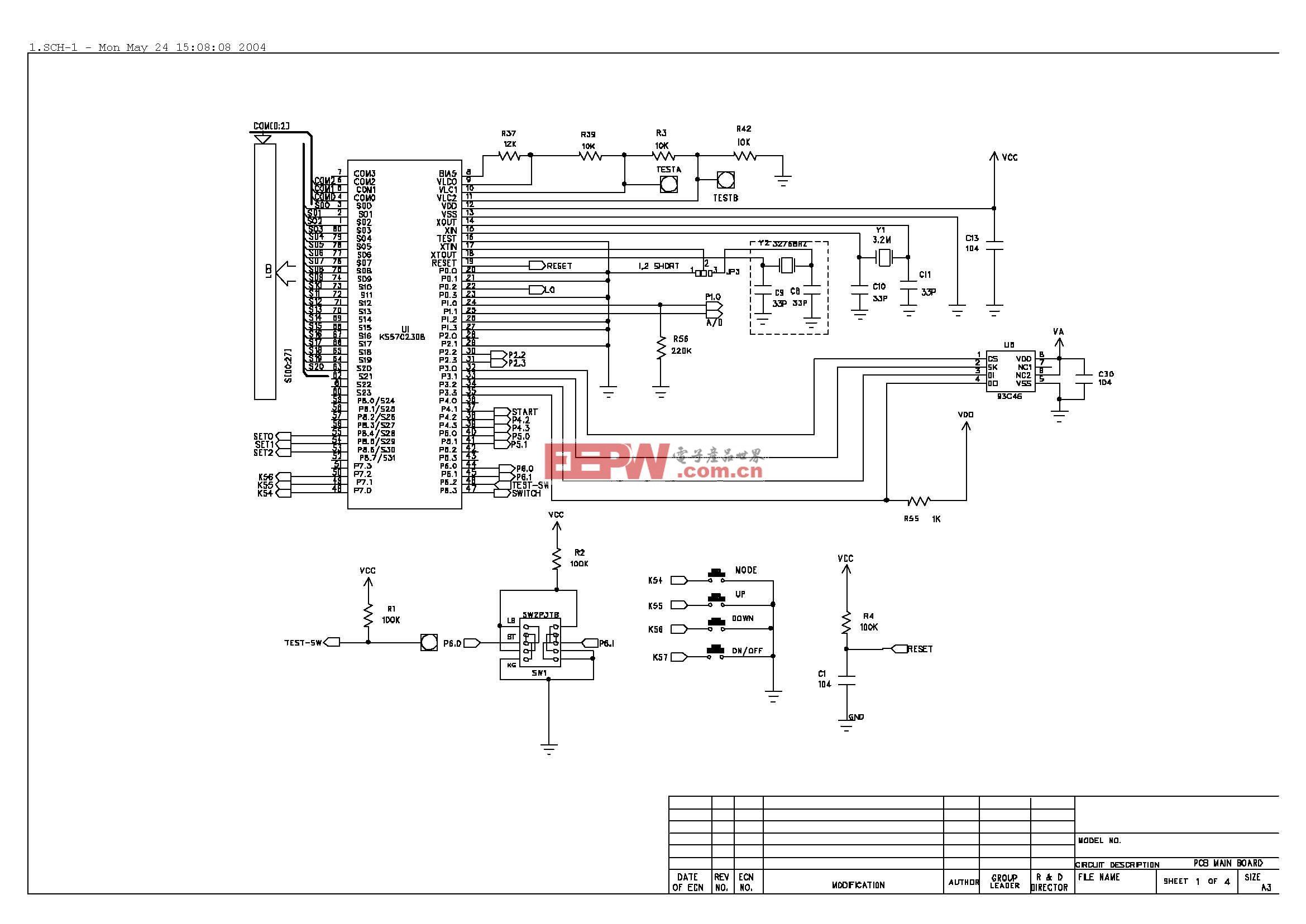 电路图:脂肪分析仪电路原理图_页面_1