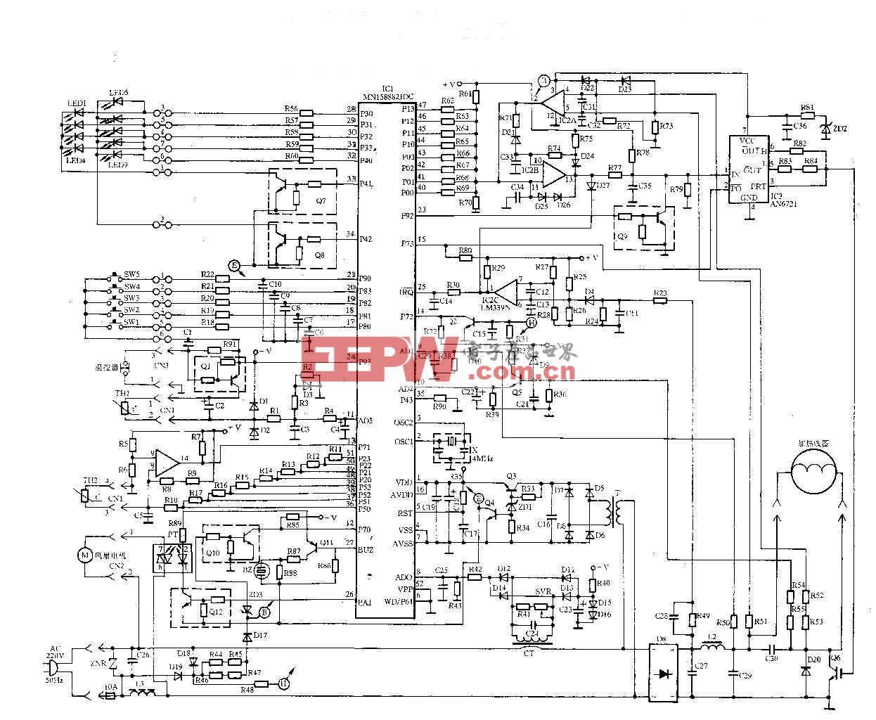 完整电磁炉电路图1