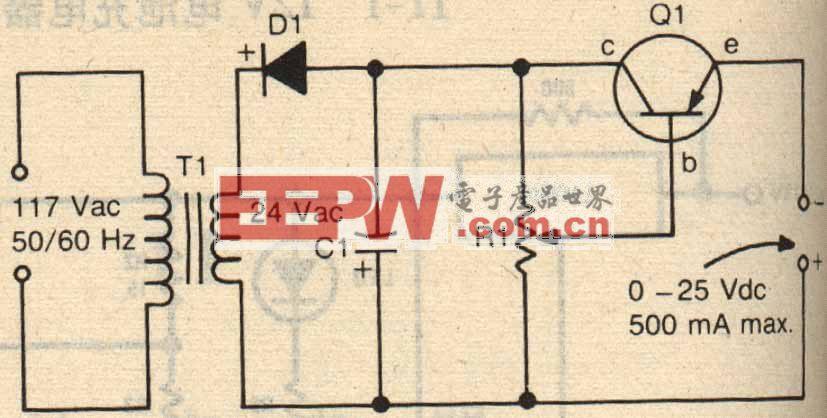 简易镍氢充电器原理图