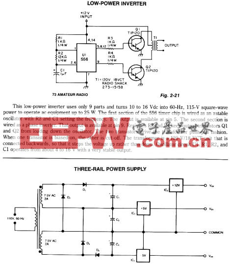 Low-power inverter circuit