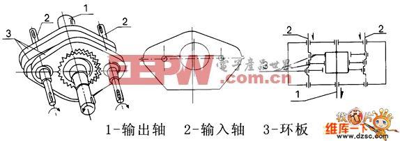 三环减速器工作原理电路图