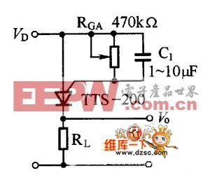 TTS-200系列温控晶体闸管电路图