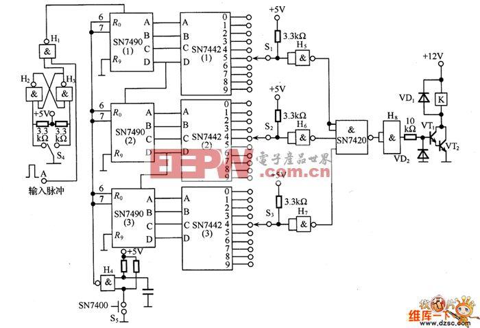 28V简单稳压电源电路图 -综合电路图图片