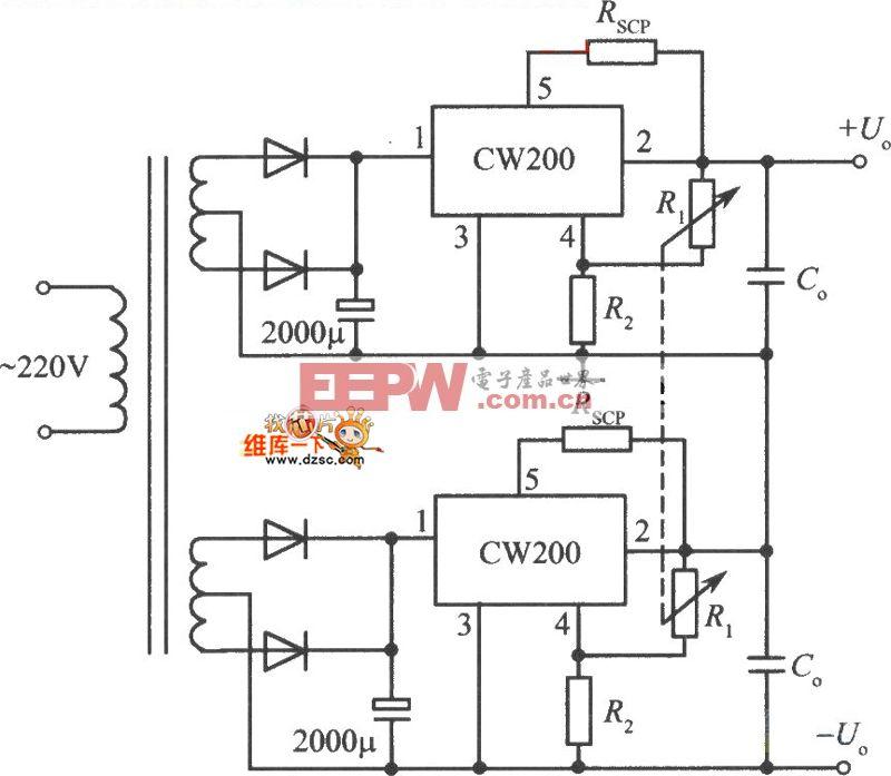 5v,5a开关稳压电源电路图图片