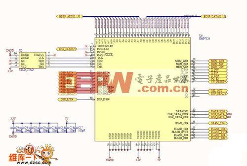 电路 电路图 电子 设计 素材 原理图 500_337