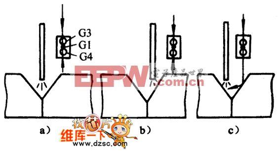 焊接传感器横向跟踪原理电路图
