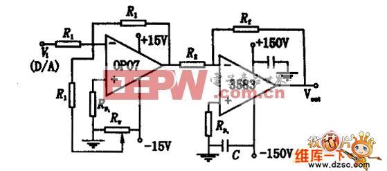 高电压驱动电路图