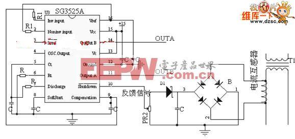 sg3525组成的逆变电路图