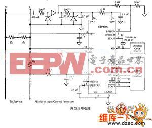 cs5460a应用电路图(含源程序)