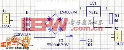 lm7812应用 电路图 电路图 电子产品世界高清图片