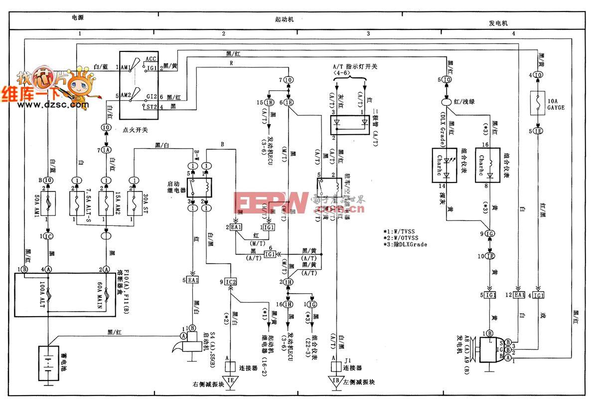 电动机和发电机电路图