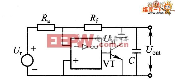 用外部电压Ur对稳压电源实施有源编程的电路图