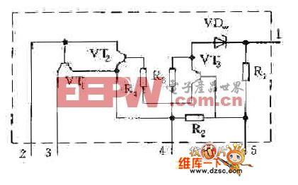 STR40090系列开关电源厚膜电路图