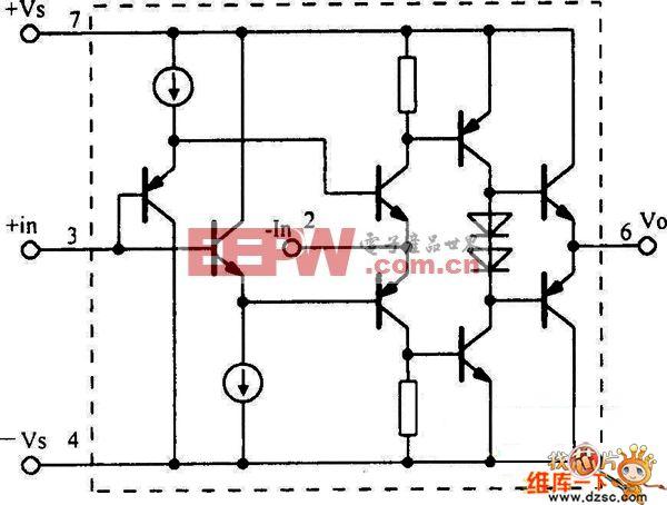 opa603电流反馈运放电路图