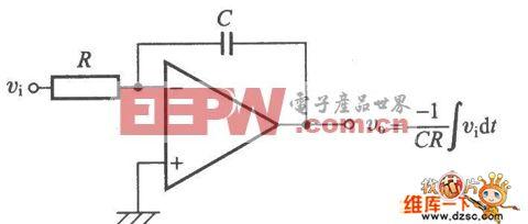 积分电路原理图