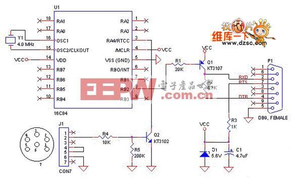 8051单片机的基本工作电路图 -单片机图片