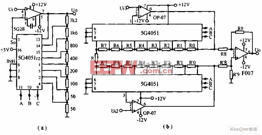 霍尔传感器信号放大电路图 -综合电路图图片
