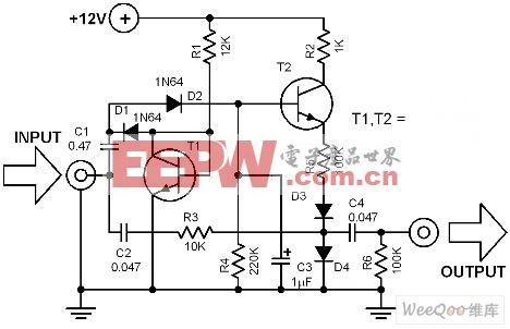 音频自动压缩电路图