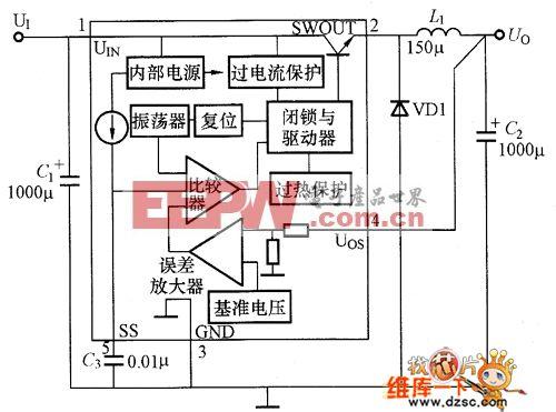 SI-8000S的内部等效电路图