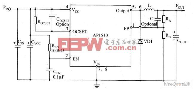 AP1510典型应用电路图 -综合电路图