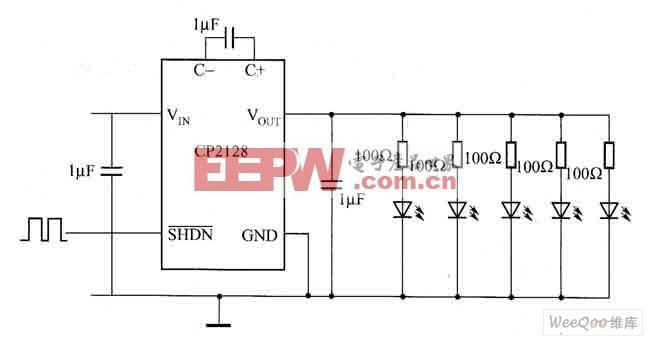 压电加速度计的电压型放大器电路图 -综合电路图图片