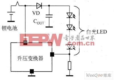 驱动3个并联的LED电路图 -led 驱动