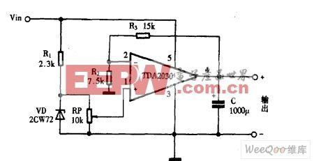 tda2030音频功率放大电路图片